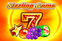 logo sizzling gems novomatic slot game