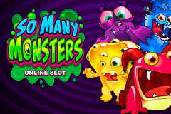logo so many monsters microgaming slot game