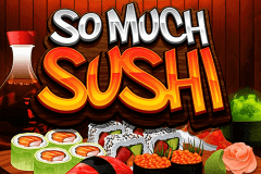 logo so much sushi microgaming slot game
