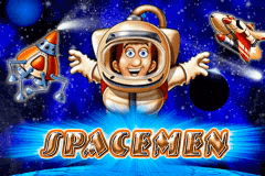 logo spacemen merkur slot game