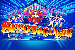 logo spectacular microgaming slot game