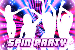 logo spin party playn go slot game