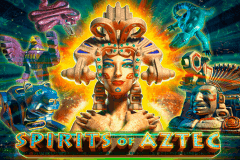 logo spirits of aztec playson slot game