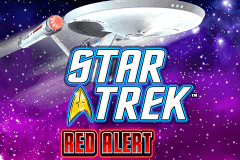 logo star trek red alert wms slot game