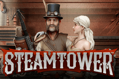 logo steam tower netent slot game