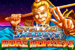 logo stellar jackpots with more monkeys lightning box slot game