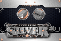 STERLING SILVER 3D MICROGAMING SLOT GAME
