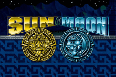 logo sun moon aristocrat slot game