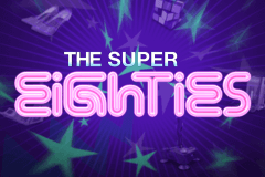 logo super eighties netent slot game