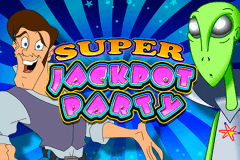 logo super jackpot party wms slot game