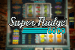 logo super nudge 6000 netent slot game