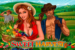 logo sweet harvest microgaming slot game