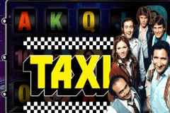 logo taxi leander slot game