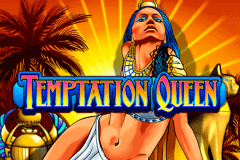 logo temptation queen wms slot game