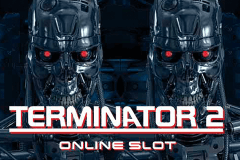 logo terminator 2 microgaming slot game