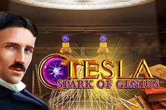 logo tesla gameart slot game