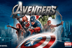 logo the avengers playtech slot game