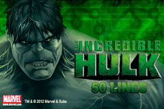 logo the incredible hulk 50 lines playtech slot game