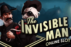logo the invisible man netent slot game