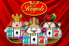 logo the royals novomatic slot game