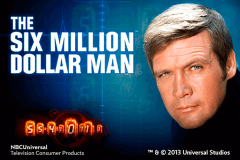 logo the six million dollar man playtech slot game