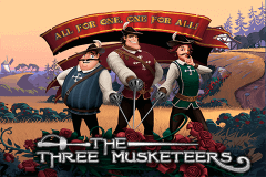logo the three musketeers playtech slot game