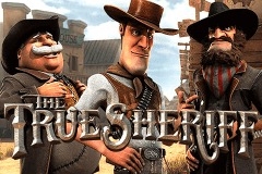 logo the true sheriff betsoft slot game