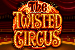 logo the twisted circus microgaming slot game