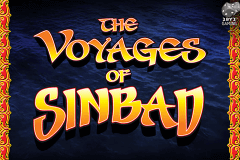 logo the voyages of sinbad leander slot game