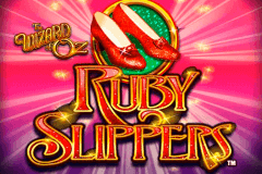 logo the wizard of oz ruby slippers wms slot game
