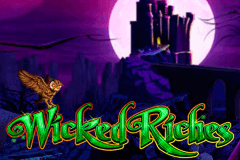 logo the wizard of oz wicked riches wms slot game