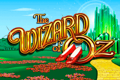 logo the wizard of oz wms slot game