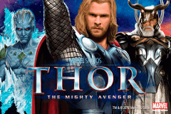 logo thor the mighty avenger playtech slot game