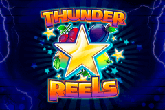 logo thunder reels playson slot game