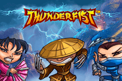 logo thunderfist netent slot game