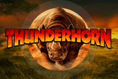logo thunderhorn bally slot game