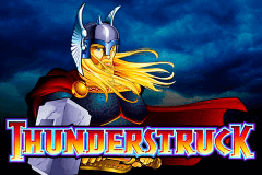 logo thunderstruck microgaming slot game