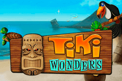 logo tiki wonders netent slot game