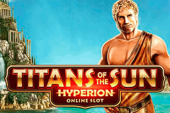logo titans of the sun hyperion microgaming slot game