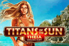 logo titans of the sun theia microgaming slot game