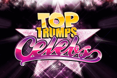 logo top trumps celebs playtech slot game