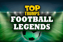 logo top trumps football legends playtech slot game
