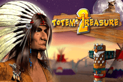logo totem treasure microgaming slot game