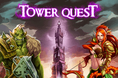 logo tower quest playn go slot game