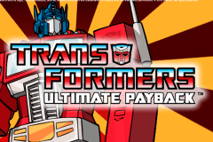 logo transformers ultimate payback igt slot game