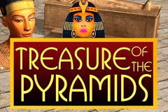 logo treasure of the pyramids 1x2gaming slot game