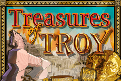 logo treasures of troy igt slot game