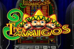logo tres amigos playtech slot game
