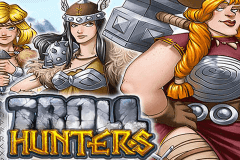 logo troll hunters playn go slot game