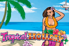 logo tropical holiday playn go slot game